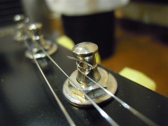 ギブソン巻き1弦